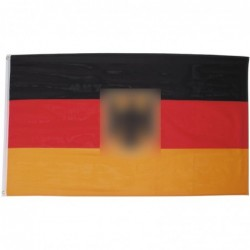 Flag of Germany with Eagle