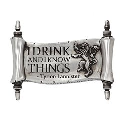 Game Of Thrones - I Drink and I Know Things