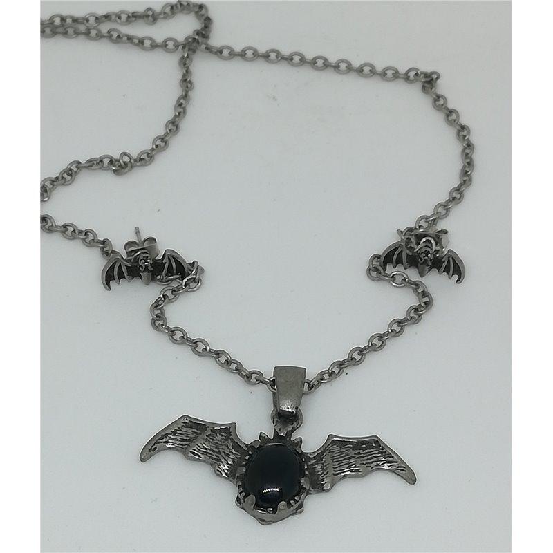 Bat With Black Stone