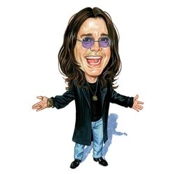 Caricature Ozzy